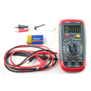 Manual 19 range digital multimeter UA33C with T/C temp probe