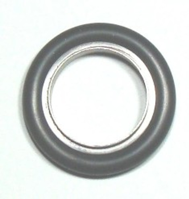 O-ring/metal centering ring combination. KF10 to KF50 sizes.