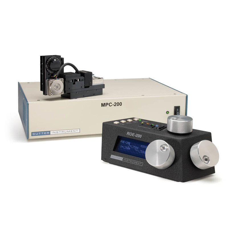 MP-265 3-axis motorized micropositioner  (magnetic base) with MP-200 controller