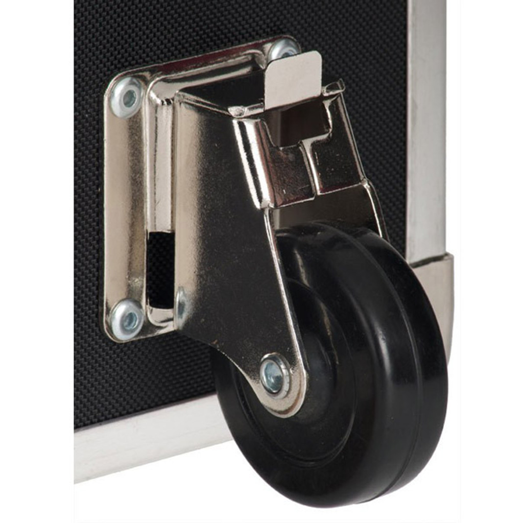 """Rhino Large Armor Trunk - 32"""" x 18"""" x 14"""" - Installed Removable Wheel"""
