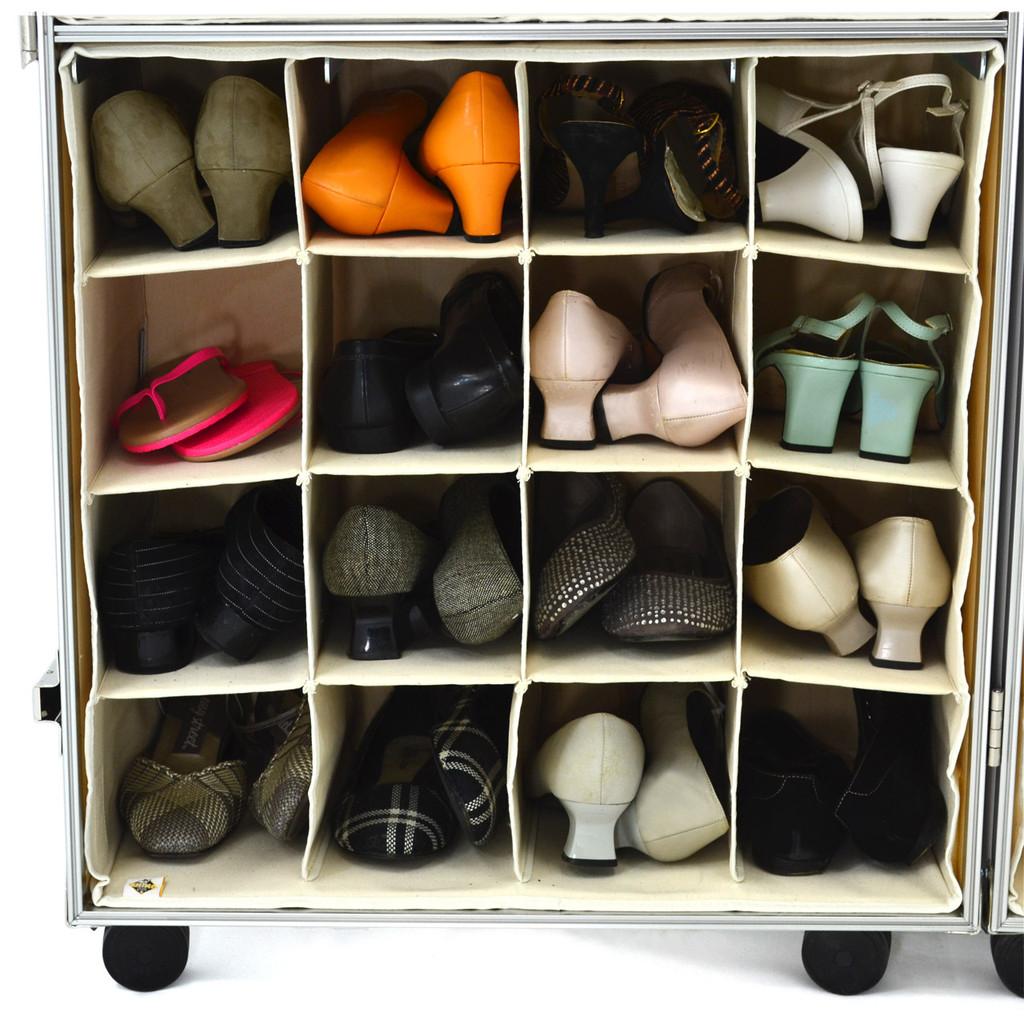 Rhino Urban Wardrobe shoe shelf insert inside view