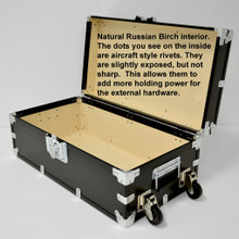 """XL Indestructo Travel Trunk - 35"""" x 19"""" x 16"""" - Open View"""
