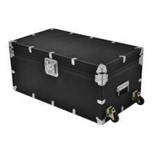 """XL Indestructo Travel Trunk - 35"""" x 19"""" x 16"""" - Angled View"""