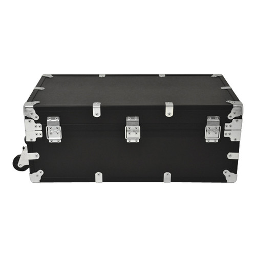 """Large Indestructo Travel Trunk - 32"""" x 17"""" x 13"""" - Back View"""