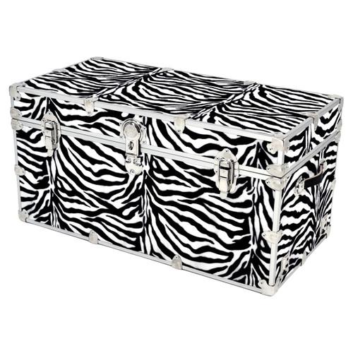 """Rhino XXL Zebra Trunk - 36"""" x 18"""" x 18"""""""