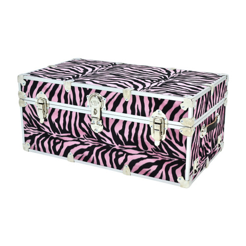 "Rhino Small Zebra Trunk - 30"" x 16"" x 12.5"""