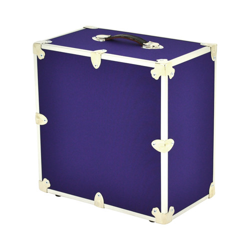 Rhino Wine Trunk in Armor purple back.