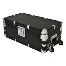 "Large Indestructo Travel Trunk - 32"" x 17"" x 13"" - Angled View"