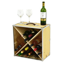 Rhino Trunk Wine Rack