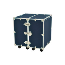 Medium Rhino Urban Wardrobe Trunk in Navy Blue