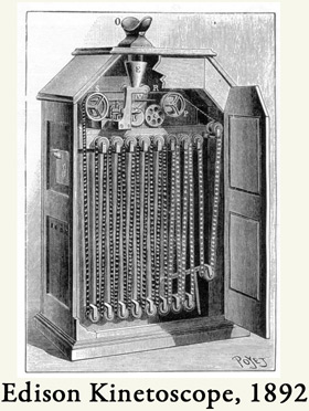 image of a kinetoscope
