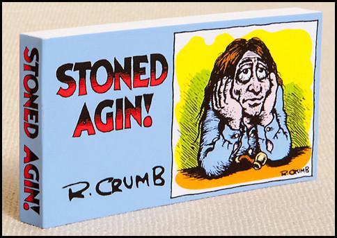 "R. Crumb's ""Stoned Agin!"" Flipbook.  A classic stoner image."