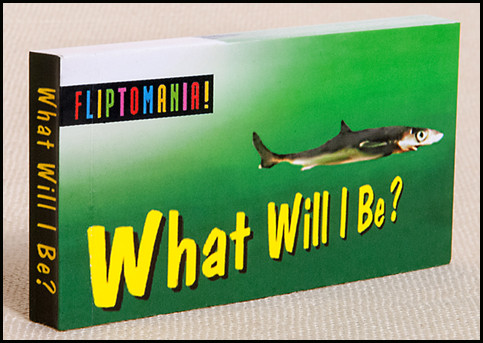 What Will I Be? (Shark) Flipbook Cover
