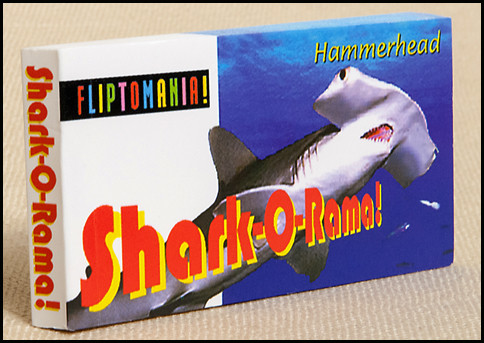 Shark-O-Rama! Flipbook Cover