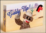 Sock Monkey - Giddy Up! Flipbook Cover