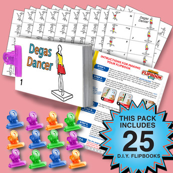 Dancer Flipbook Activity Pack