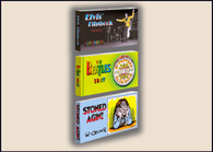 60's Flipbook 3-Pack:  Elvis, the Beatles, R. Crumb