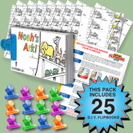 Noah's Ark Activity Pack - 25 Sets