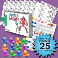 David & Goliath Flipbook Activity Pack - 25 Sets