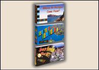 Landmarks Flipbooks 3-Pack: Bridges, New York, Space Needle