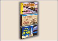 Travel Flipbooks 3-Pack: History of Trains, History of Flight, Apollo Moon Missio