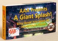 Special Edition Barry Bonds Flipbook