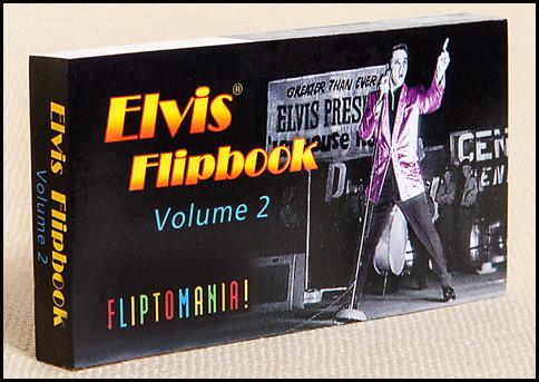 Elvis, Volume 2 Flipbook Cover