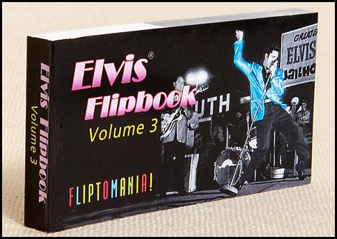 Elvis Presley Flip Book, Volume 3 | Elvis Dancing