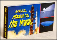 Apollo: Mission to the Moon Flipbook.  3-in-one flipbooks.  See the launching of a Saturn V rocket, an interstage ring being jettisoned into space, and an astronaut bounding on the moon's surface.
