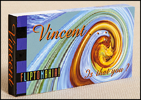 Vincent, is that you? Flipbook Cover