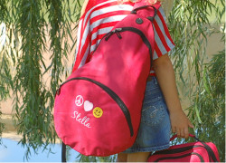 Kids Personalized Crossbody Sling Backpack