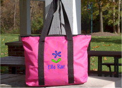 Kids Personalized Universal Tote Bag Front View
