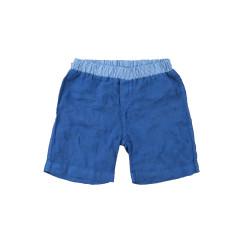 Linen Shorts - Navy