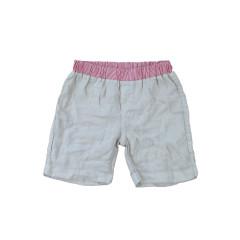 Linen Shorts - Beige