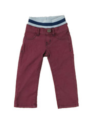 Twill Pants Burgundy