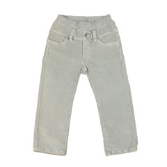 Corduroy Pants - Cool Grey