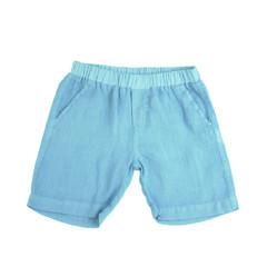 Linen Shorts - Ocean