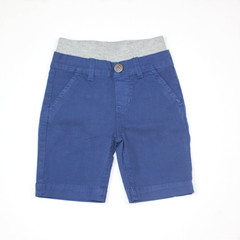 Poplin Shorts - Royal Navy Garment Dyed