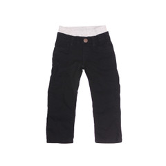 Poplin Pants - Black Garment Dyed