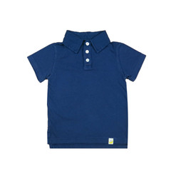 Organic Cotton Polo - Navy