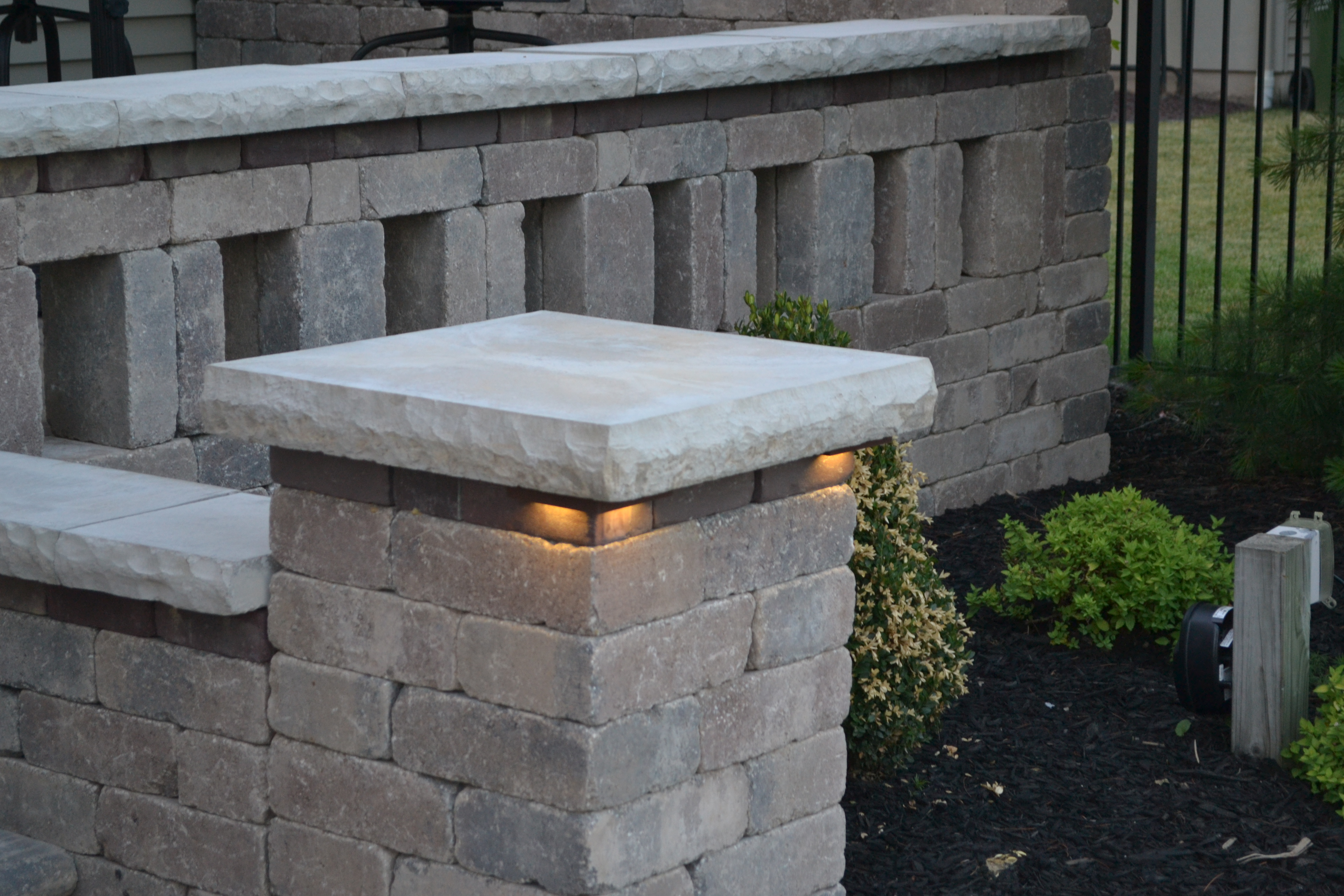 Kerr Lighting Led Lights For Steps Wall And Pillar Caps