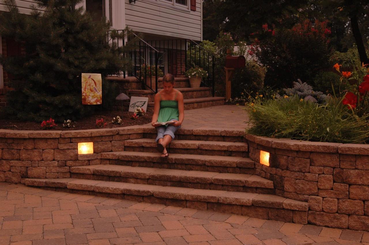 Garden Retaining Wall Lights : Retaining Wall Lights 6