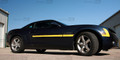 2010-2013 Chevy Camaro Hockey Stick Side Stripes Decals