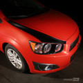 2012 & up Chevrolet SONIC Hood Spears Stripes Blackout Chevy AVEO