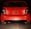2012 & up Chevy Sonic Rear Bumper Blackout Decal