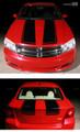 2008-2014 Dodge Avenger Hood & Trunk Rally Stripes