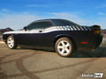 2008-2014 Dodge Challenger Racing Side Stripes Dual Strobe Decals