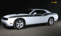 2011-2014 Dodge Challenger Side Dual + Strobe Stripes RT Decals