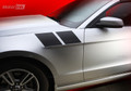2013-2014 Ford Mustang Fender Side Double Stripes Decals.