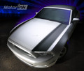 2013-2014 Ford Mustang Fender Hood Side Spears Blackout Stripes